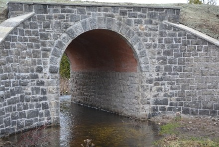 Restored Chatsworth Railway Arch made of local stone