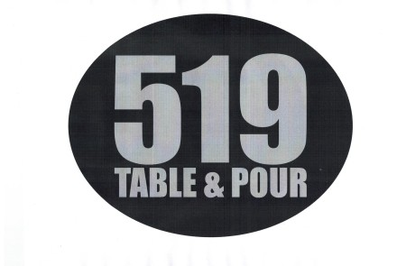 519 TABLE and POUR