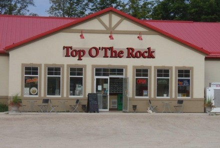 Top O The Rock Logo