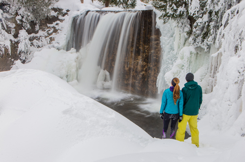 Winter Waterfalls 101 Grey County Tourism