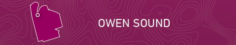 Owen Sound Locator Map