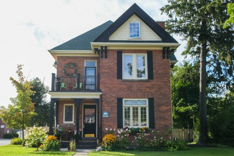 Danby House B&B in Markdale, Ontario is centrally located in Bruce Grey Simcoe.