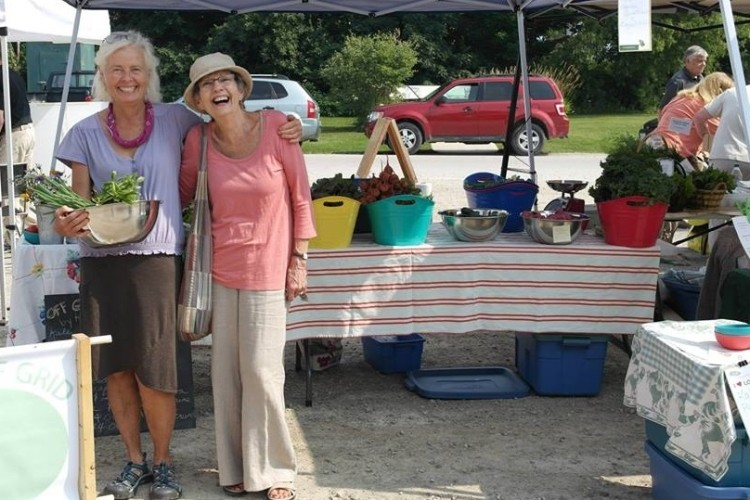 vendors at Meaford Farmers' Market