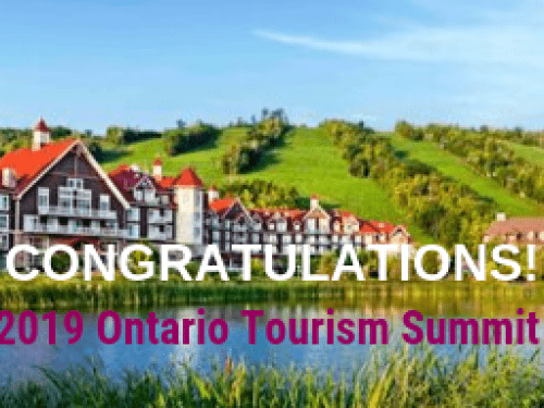 Ontario Tourism Summit Contest Winners