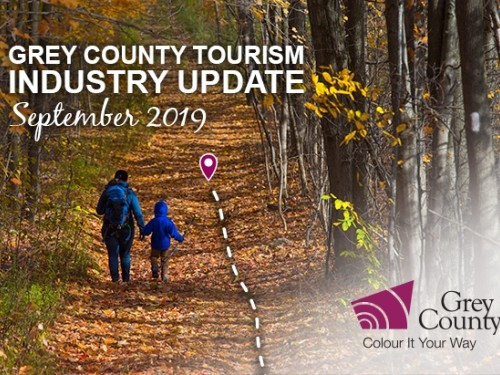 Grey County Tourism Industry Update - September 2019