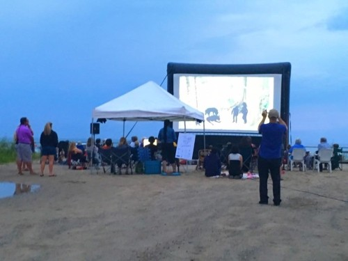 Films at Sauble Beach 'under the stars'