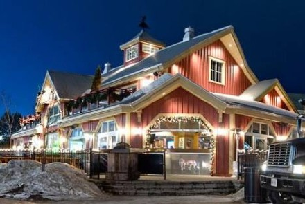 Rusty's is the hub of activity at the base of the Silver Bullet lift in the heart of the Village at Blue Mountain!