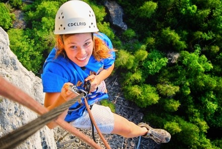 adventure, explore, grey county, Bruce county, fun, things to do, rock climbing, caving, caves, ice cave, repelling, repel, camp