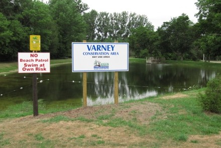 A summer photo of Varney Conservation Area
