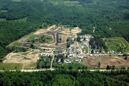 Motopark Motocross Arial Photo
