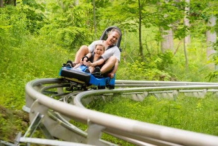 Ridge Runner Mountain Coaster