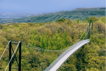 Iconic 420 ft. Suspension Footbridge - Southern Ontario's longest