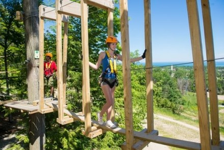 Timber Challenge High Ropes Course