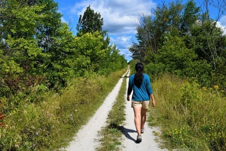 Hiking the Grey County Rail Trail