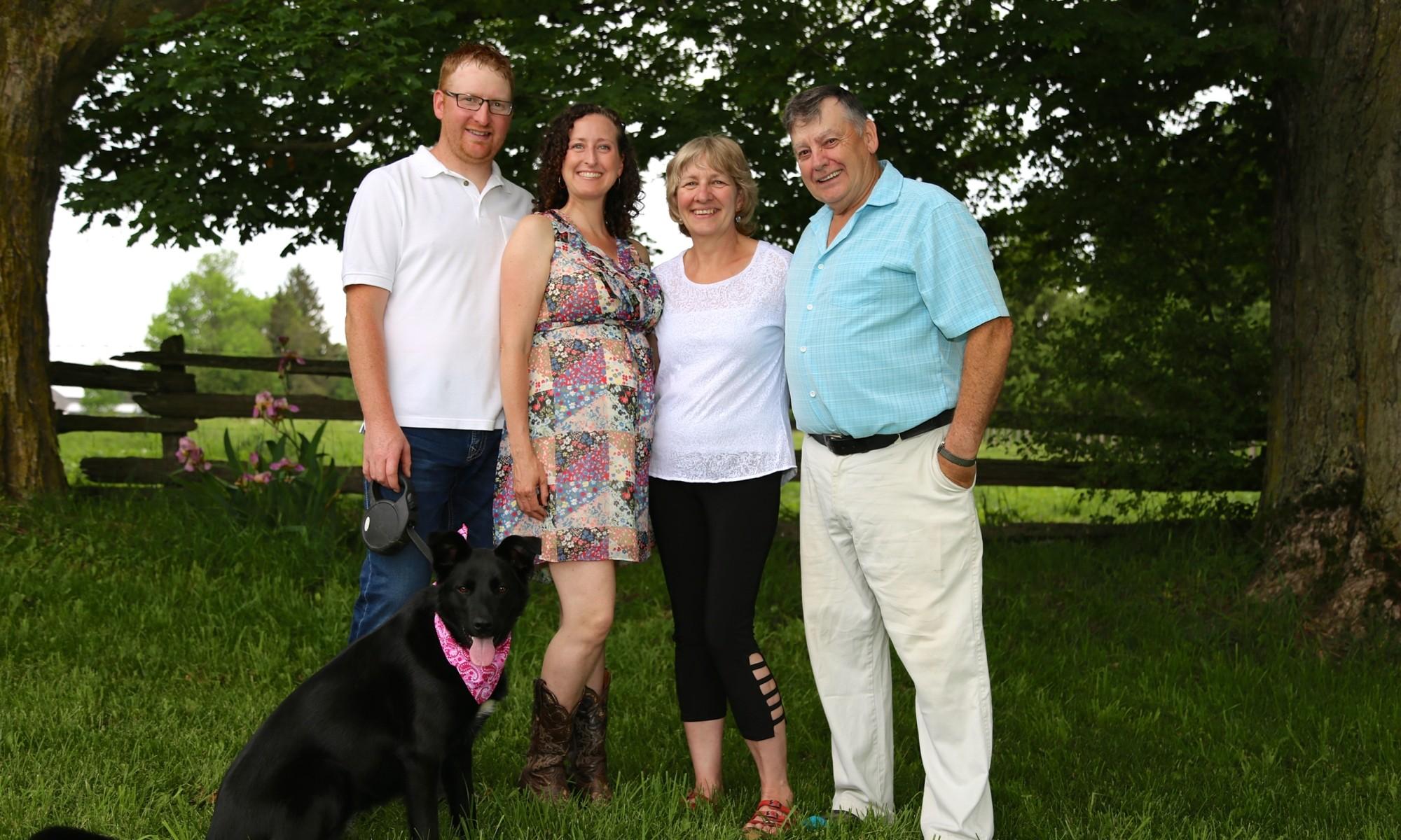 Team at Valleykirk Farms