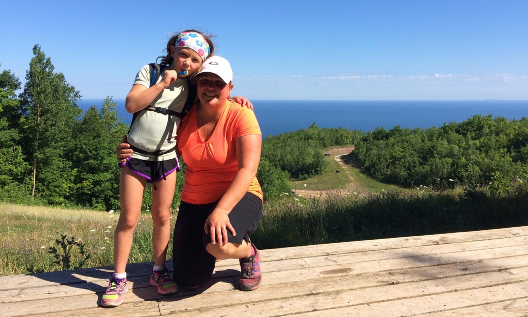 Hiking with my Mom